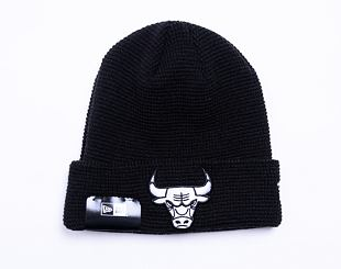 Kulich New Era NBA Team Cuff Knit Chicago Bulls Black