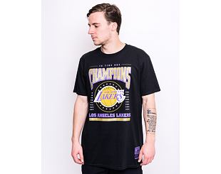 Triko Mitchell & Ness Los Angeles Lakers Champions Tee Black