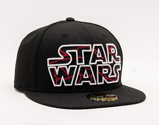 Kšiltovka NEW ERA 59FIFTY STAWARS Black