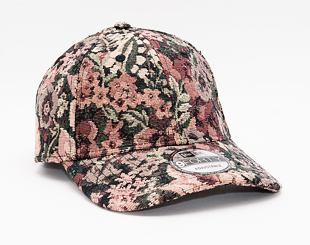 Kšiltovka New Era 9FORTY Woven Floral Strapback Brown