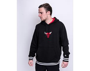 Mikina New Era Varsity detail Hoody Chicago Bulls Black