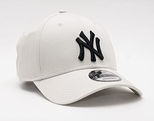 Kšiltovka New Era 9FORTY MLB League Essential New York Yankees Strapback Stone