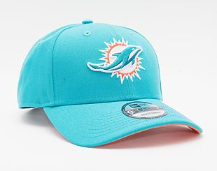 Kšiltovka New Era 9FORTY NFL The League 2018 Miami Dolphins Strapback Team Color