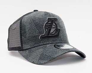 Kšiltovka New Era 9FORTY A-Frame Trucker NBA Engineered Fit Los Angeles Lakers Snapback Black