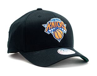 Kšiltovka Mitchell & Ness New York Knicks 537 Team Logo High Crown Black