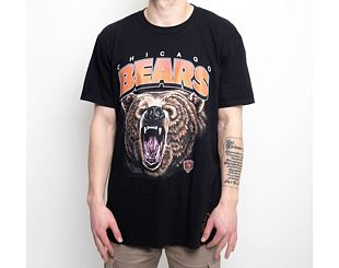 Triko Mitchell & Ness Chicago Bears NFL Animal Tee Black