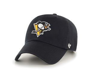 Kšiltovka 47 Brand Pittsburgh Penguins Clean Up Black