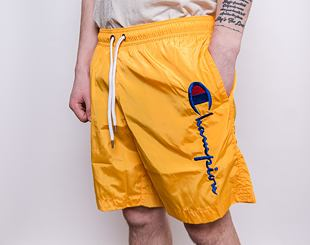 Kraťasy Champion Beach Shorts 214458 Yellow