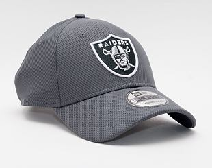 Kšiltovka New Era 9FORTY NFL Diamond Era Las Vegas Raiders Strapback Gray