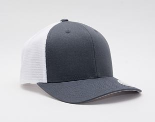 Kšiltovka Flexfit 110 Mesh Trucker Charcoal/White