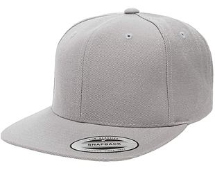 Kšiltovka Yupoong Classic Flexfit Snapback Heather Grey