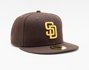 Kšiltovka New Era 59FIFTY MLB Authentic Performance San Diego Padres Fitted Team Color