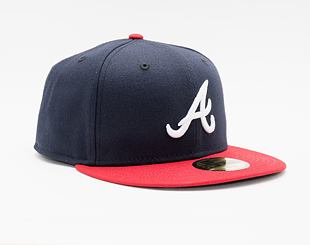 Kšiltovka New Era 59FIFTY MLB Authentic Performance Atlanta Braves Fitted Team Color