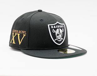 Kšiltovka New Era 59FIFTY NFL Retro Sports 59fifty Las Vegas Raiders Fitted Team Color