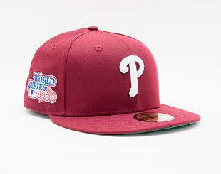 Kšiltovka New Era 59FIFTY MLB World Series Side Patch Philadelphia Phillies Fitted Team Color