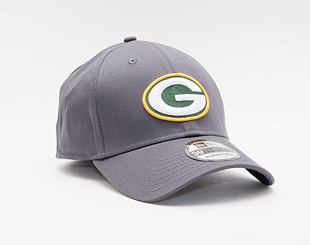 Kšiltovka New Era 39THIRTY NFL Team Green Bay Packers Stretch Fit Heather Graphite