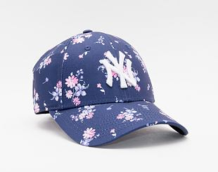 Kšiltovka New Era 9FORTY Womens MLB Floral New York Yankees Strapback Navy