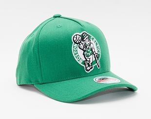 Kšiltovka Mitchell & Ness Boston Celtics Solid Redline Dropback Kelly Green