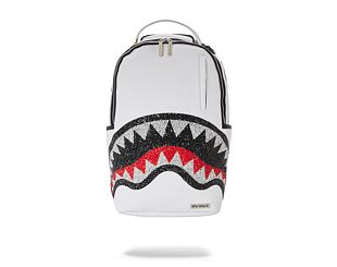 Batoh Sprayground Trinity 2.0 Shark White Backpack