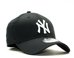 Kšiltovka New Era League Basic New York Yankees Navy White 39THIRTY Stretchfit