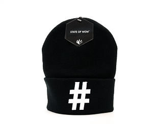 Kulich State of WOW Hashtag Black