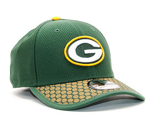 Kšiltovka New Era On Field NFL17 Green Bay Packers 39THIRTY Official Team Color