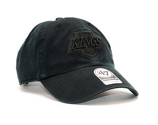 Kšiltovka 47 Brand Clean Up Los Angeles Kings Black/Black Strapback