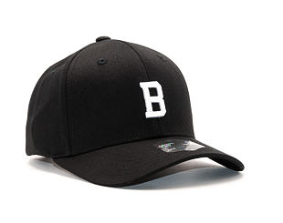 Kšiltovka State of WOW Bravo SC9201-990B Baseball Cap Crown 2 Black/White Strapback