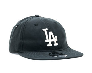 Kšiltovka New Era Light Weight Nylon Packable Los Angeles Dodgers 9TWENTY Black/White Strapback