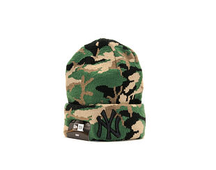 Dětský Kulich New Era Essential Camo Knit New York Yankees Toddler Woodland Camo/Black