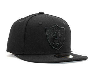Kšiltovka New Era 59FIFTY Oakland Raiders Poly Tone Black/Black