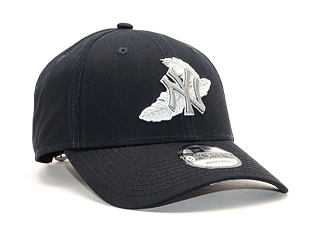 Kšiltovka New Era 9FORTY New York Yankees Light Weight Navy/Gray