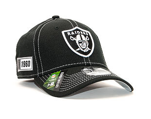 Kšiltovka New Era 39THIRTY Diamond Era NFL Oakland Raiders ONF19 Sideline OTC