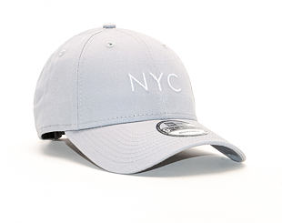 Kšiltovka New Era 9FORTY NYC Seasonal Grey / Optic White Strapback