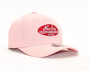 Kšiltovka New Era 9FIFTY Stretch Snap Oval Logo Blush Sky Pink Snapback