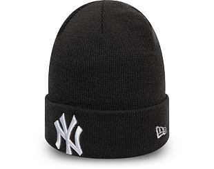 Kulich New Era New York Yankees League Essential Cuff Knit Grey Heather