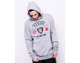 Mikina New Era Oakland Raiders Graphic Po Hoodie