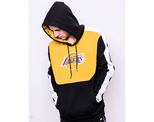 Mikina New Era Los Angeles Lakers Colour Block Hoody