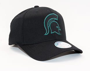 Kšiltovka Mitchell & Ness Michigan State Spartans 653 Monochrome 110
