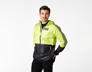 Bunda Helly Hansen Active Wind Jacket 379 Sunny Lime/Citron Vert
