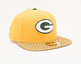 Kšiltovka New Era 9FIFTY Green Bay Packers On Filed