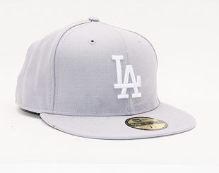 Kšiltovka New Era 59FIFTY Los Angeles Dodgers Basic Grey