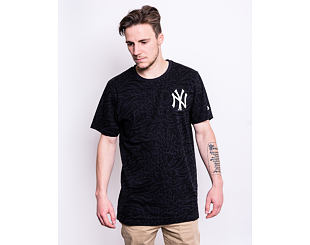 Triko New Era New York Yankees Aop Tee Navy