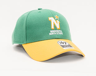 Kšiltovka 47 Brand Minnesota North Stars Vintage MVP Green/Yellow 1967