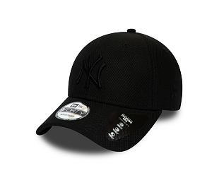 Kšiltovka NEW ERA 9FORTY MLB Daimond Era New York Yankees Strapback Black / Black