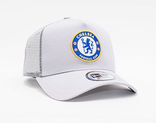 Kšiltovka New Era 9FORTY A-FRAME Trucker Basic Trucker Chelsea FC Lion Crest Gray