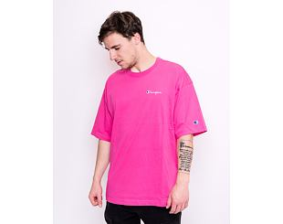 Triko Champion Crewneck T-Shirt Flame Pink 214279 PS025