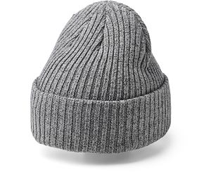 Kulich Upfront Heavy Beanie Light Grey Melange