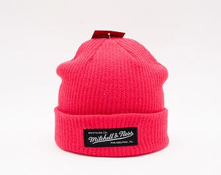 Kulich Mitchell & Ness Box Logo Cuff Knit Red