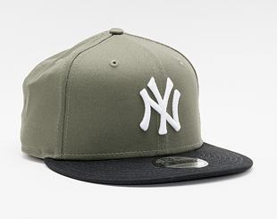 Dětská kšiltovka New Era 9FIFTY Kids Color Block New York Yankees Snapback New Olive / Black